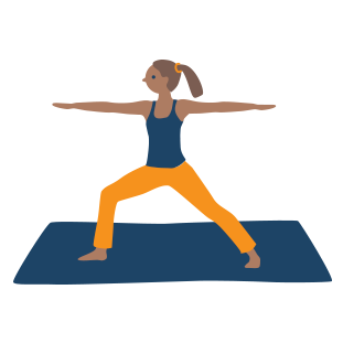 Get energy with Yoga for MS