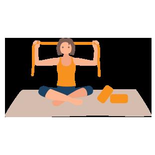 30 min Dynamic Yoga classes